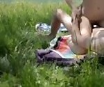 Naughty Picnic - Real Couple Outdoors