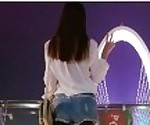 sefu8.info - 91小白-淘宝高挑小野模衬衫皮靴短裤