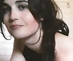 sexy brunette teen tgirl teases on stream