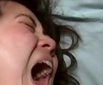 Asian Woman\'s Massive Orgasm Face With Mouth Wide Open