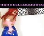 English latex jeans humiliation