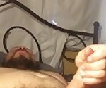 Young Chubby Man does Tantric masterbation Till camera battery dies