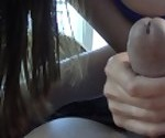 Little Latina Whore Jerks Dick