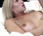 Blonde Trap Tit And Butt Fucked
