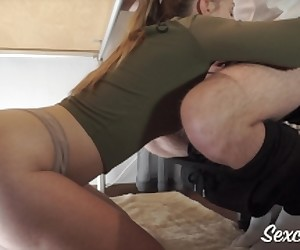 stop gaming start cumming - blowjob with cum in mouth