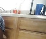 Upskirt Video My wife little sister can\'t find the pots and pans.