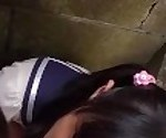 Petite Jav Teen Schoolgirls Rina And Asami Give Public BJ And Piss