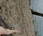wank on nudist beach