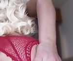 Petite Blonde Twerking on dick to get pregnant - POV Creampie