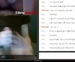 Hot Omegle Teen Likes what she sees and cums with me(With sound)