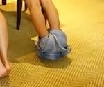 CHinese Girls Spanked Bare Bottom