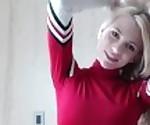 INDIGO WHITE - TEEN CHEERLEADER CUM