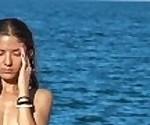Удивительный Нудистский Пляж Девушки