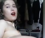 Teen Tranny Dildoing Her Fuckable Asshole