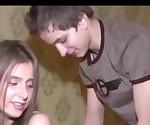 Sexy Amateur College Girl ficken mit ihrem neuen Freund
