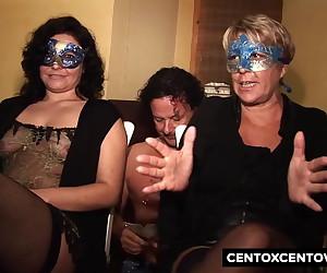 Balls Deep Anal Slamming For Mature Cockwhore In Lingerie