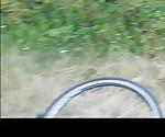 Bike tour and wanking