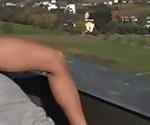 German Yoga-Challenge on the Rooftop