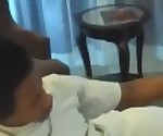 Young Black Homie Satisfies Pretty Older Wife In Front Of Her Husband