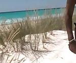 Групповуха на пляже