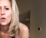 Mature slut fucks her soaking wet cunt