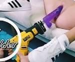 CoyWilder дилдо fuck machine creamy pussy