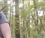 Работала по вебке не поймали ебля дилдо в лесу