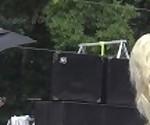 Крошечные Техіебыл демонстрируя свои тугие 3\'6\' тела в Ню-а-попсовое 2019