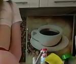 Немецкий подросток Тина трахается жесткий кухне. Тощий 18летняя диплом
