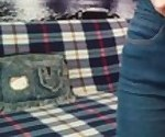 Узкие джинсы стриптиз - 4К MissNimpho