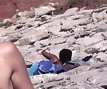 Большие Сиськи Нудистский Любителей Voyeur Beach Compilation Video