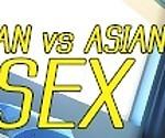 Популярные горячие азиатские аккорды японская пара поставила на удивительный секс шоу, огромный сперма