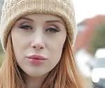 Public Agent Redhead Brit Lenina Crowne fucks for posh villa