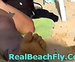 REALBEACHFLY #72 BEAUTIFUL GIRLS CAUGHT TOTALLY NAKED ..